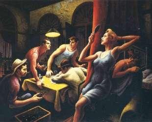 Poker Night — Томас Гарт Бентон