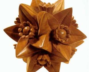 Polyhedron with Flowers — Мауриц Корнелис Эшер