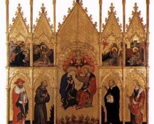 Polyptych of Valle Romita — Джентиле да Фабриано