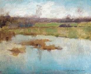 Pond Giverny — Уиллард Меткалф