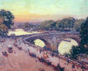 Pont Royal — Уиллард Меткалф