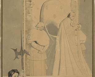 Папа Пий VII судействует в соборе святого Петра — Жан Огюст Доминик Энгр