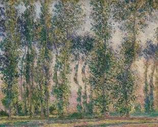Тополя в Живерни — Клод Моне