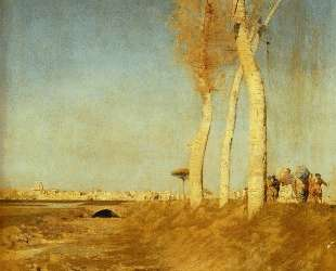 Poplars — Джузеппе Де Ниттис
