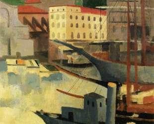 Порт в Сен-Тропе — Моис Кислинг
