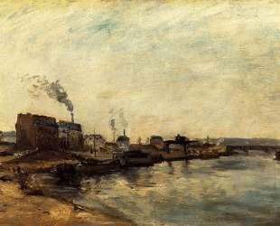 Порт Гренелля — Поль Гоген