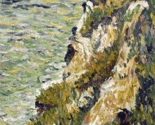 Port en Bessin, a Cliff — Поль Синьяк