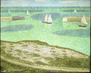 Порт-ан-Бессен, вход в гавань — Жорж Сёра