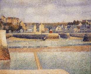 Порт-ан-Бессен, внешняя гавань, отлив — Жорж Сёра