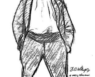Portrait charge — Альфонс Муха