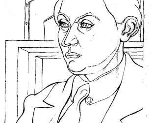 Portrait Daniel Henry Kahnweiler — Хуан Грис
