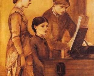 Групповой портрет семьи художника — Эдвард Бёрн-Джонс