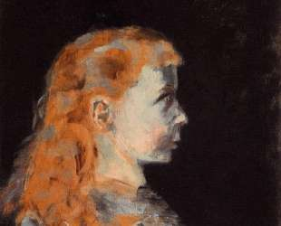 Portrait of a Child — Анри де Тулуз-Лотрек