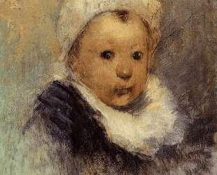 Портрет ребенка (Анна Гоген) — Поль Гоген