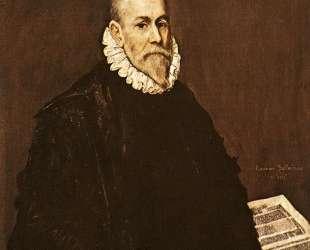 Портрет доктора Родриго де ла Фуенте — Эль Греко