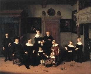 Portrait of a Family — Адриан ван Остаде