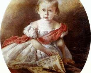 Portrait of a Girl — Иван Крамской