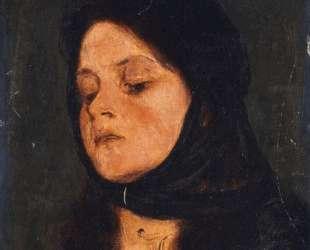 Portrait of a girl — Николаос Гизис