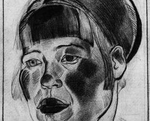 Портрет девушки — Александр Дейнека