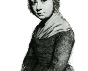 Портрет девушки — Оноре Домье
