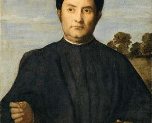 Portrait of a Jeweler, Possibly Giovanni Pietro Crivelli — Лоренцо Лотто