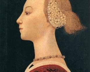 Портрет дамы — Паоло Уччелло