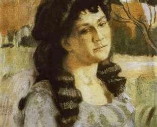 Портрет дамы — Виктор Борисов-Мусатов