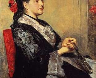 Портрет дамы из Севильи — Мэри Кассат