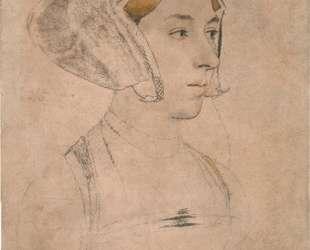 Portrait of a Lady, thought to be Anne Boleyn — Ганс Гольбейн Младший