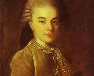 Portrait of A. M.Rimskiy-Korsakov — Фёдор Рокотов