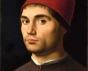 Портрет мужчины — Антонелло да Мессина