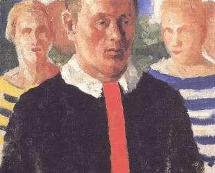 Мужской портрет — Казимир Малевич