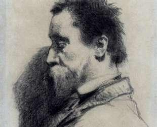 Портрет мужчины (предположительно, Леопольда Дебросса) — Жан-Франсуа Милле