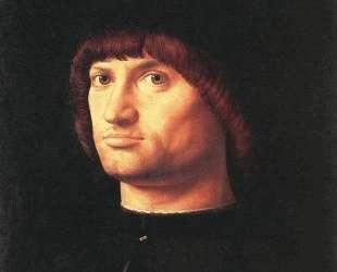 Портрет мужчины (Кондотьер) — Антонелло да Мессина
