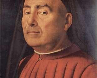 Портрет мужчины (Портрет Тривульцио) — Антонелло да Мессина