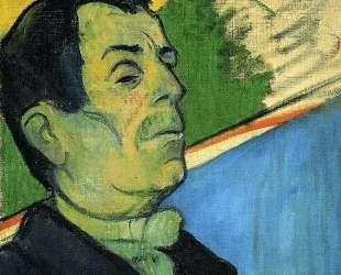 Портрет мужчины с лавальером — Поль Гоген