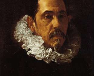 Portrait of a Man with a Goatee — Диего Веласкес