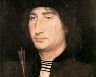 Портрет мужчины со стрелой — Ганс Мемлинг