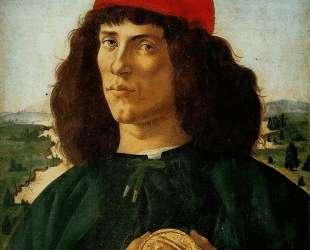 Портрет мужчины с медалью Козимо — Сандро Ботичелли