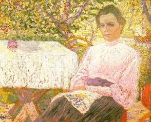 Портрет члена семьи художника — Казимир Малевич
