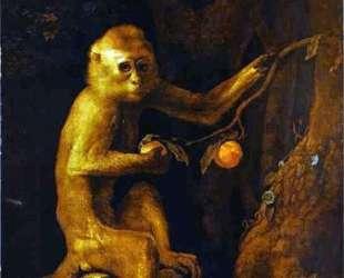 Portrait of a Monkey — Джордж Стаббс