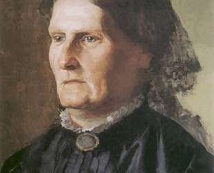 Portrait of a mother of Henry Siemiradzki — Генрих Семирадский