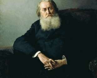 Portrait of A. N. Plescheev — Николай Ярошенко