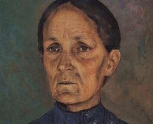 Портрет А. П.Петровой-Водкиной, матери художника — Кузьма Петров-Водкин
