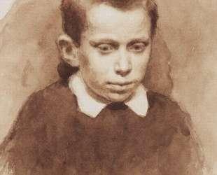 Портрет А. С. Матвеева в детстве — Василий Суриков