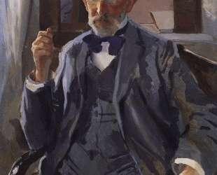 Портрет А. И.Сомова, отца художника — Константин Сомов