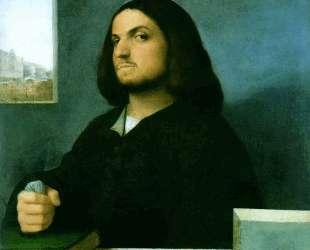Portrait of a Venetian nobleman — Тициан