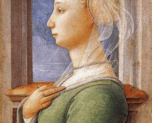 Portrait of a Woman — Филиппо Липпи