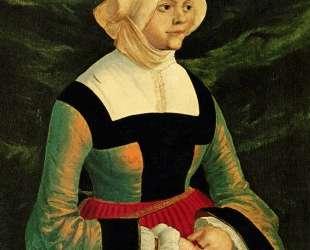 Портрет женщины — Альбрехт Альтдорфер