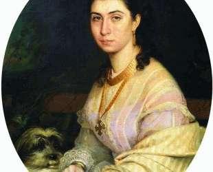 Женский портрет — Иван Крамской